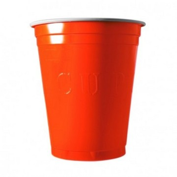 20 gobelets americain orange 53cl - original cup