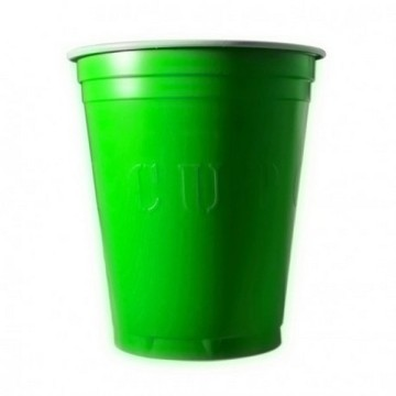 20 gobelets americain vert fluo 53cl - original cup
