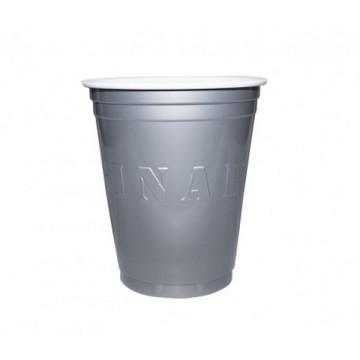 20 gobelets americain argent 53cl - original cup