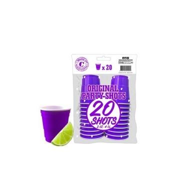 20 shooters violet 4cl - original cup