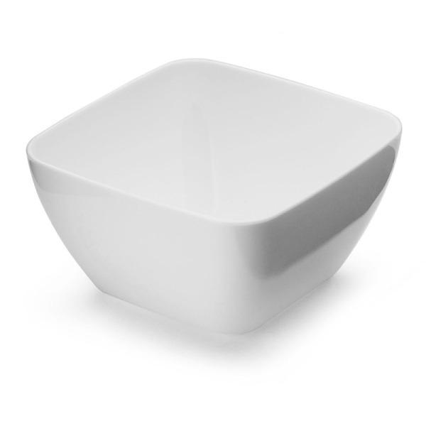 20 bols dégustation en plastique blanc 5 cm