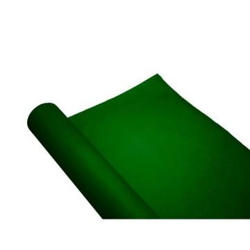 chemin de table papier rouleau uni vert sapin 0.4x10 m (qualité premium)