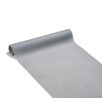 chemin de table papier rouleau uni gris perle 0.4x10 m (qualité premium)