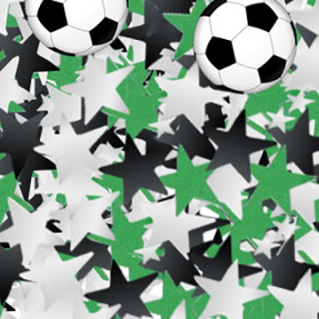 confettis football - 18 gr