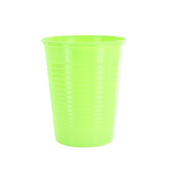 25 gobelets plastique vert - 20 cl