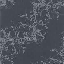 25 serviettes papier harmony anthracite / argent 40 cm
