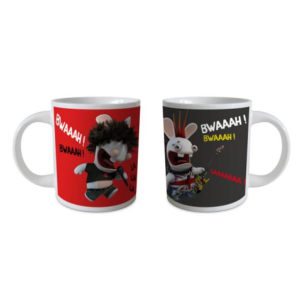 coffret cadeau de 2 mugs les lapins crétins™