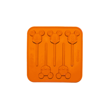 moule à sucette orange - mickey mouse™