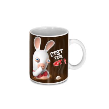 mug c'est tres hot les lapins crétins™