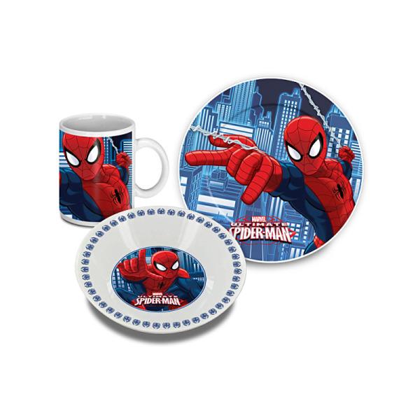 set déjeuner 3 pièces spiderman™