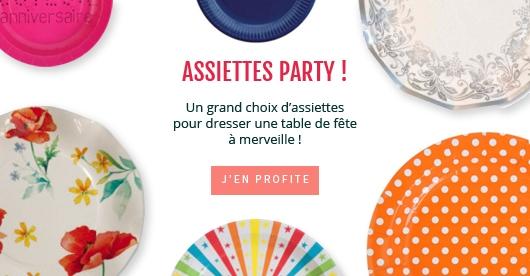 Assiettes party