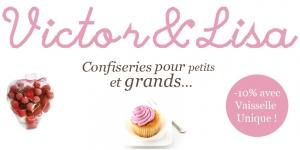 Poursuivez votre shopping gourmand avec Victor & Lisa