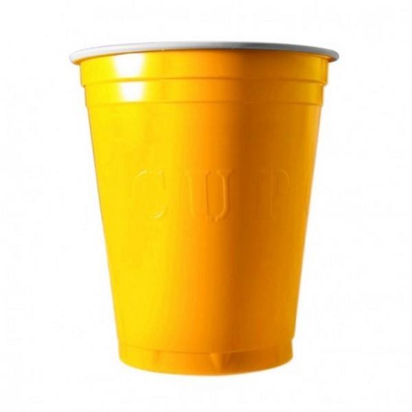 20 gobelets americain jaune 53cl - original cup