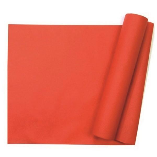 chemin de table intissé rouge - 29 cm x 10 m