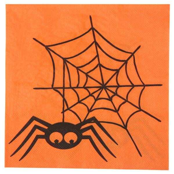 10 serviettes de table halloween