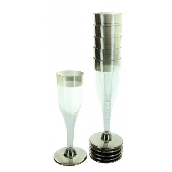 6 flûtes à champagne 12 cl - fêtez-moi