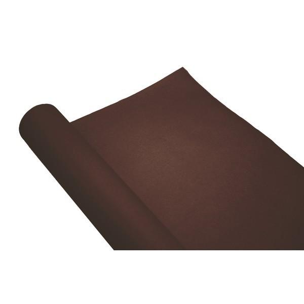 chemin de table papier rouleau uni cacao 0.4x10 m (qualité premium)