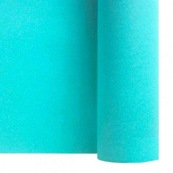 chemin de table papier rouleau uni turquoise 0.4x10 m (qualité premium)