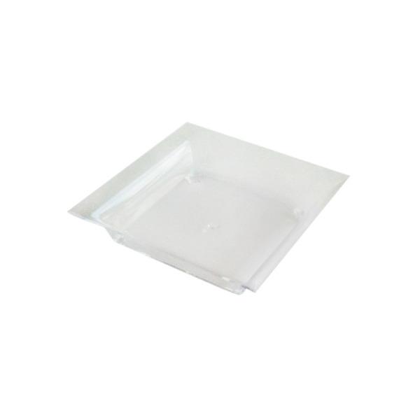 50 mise en bouche en plastique rigide cristal transparent