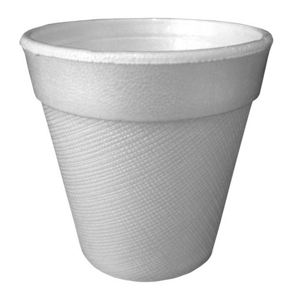100 gobelets en polystyrène isotherme blanc 24 cl