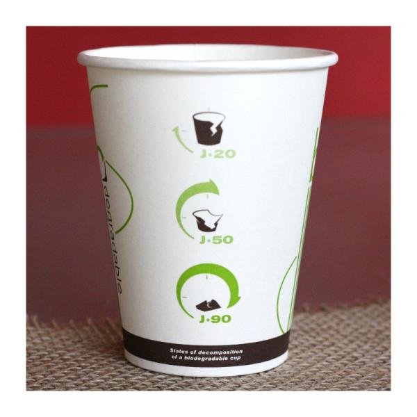 50 gobelets biodégradables 10 cl