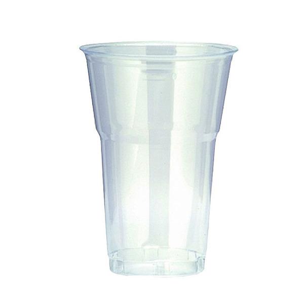 50 gobelets en plastique transparent 40 cl