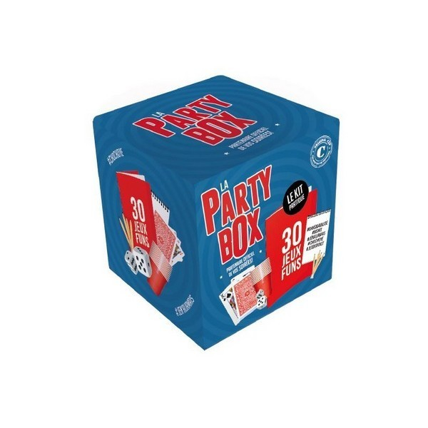 party box - 30 jeux de soirée - original cup