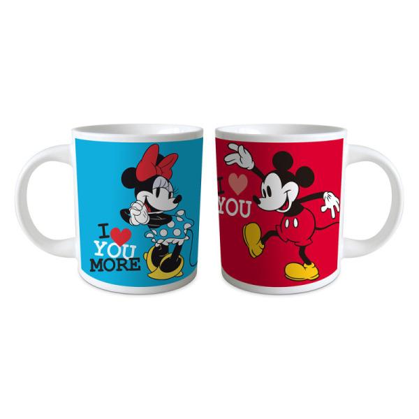 coffret cadeau de 2 mugs mickey et minnie™