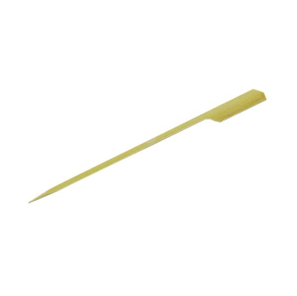 250 piques plat en bambou - 15 cm