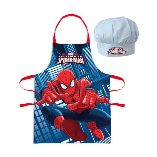 tablier et toque spiderman™