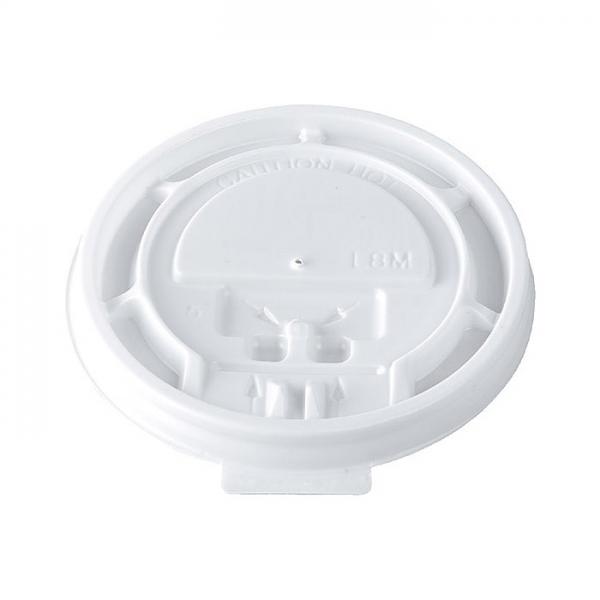 100 couvercles en plastique pour gobelets thermo 23 cl