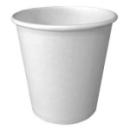 100 gobelets en carton blanc 17 cl