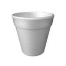 100 gobelets en polystyrène isotherme blanc 10 cl