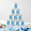 10 Gobelets en carton BABY SHOWER Boy