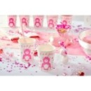 10 Assiettes en carton BABY SHOWER Girl 23 cm