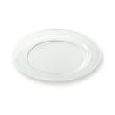 12 assiettes en plastique rigide ronde cristal prestige 19 cm