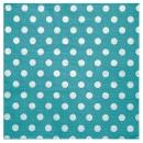 20 serviettes motif à pois - turquoise