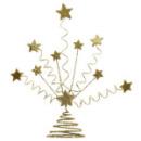 Centre de table d\'étoile pailleté - Or