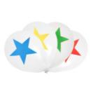 8 Ballons Cirque - Multicolore