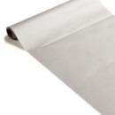 chemin de table papier rouleau uni argent 0.4x10 m (qualité premium)