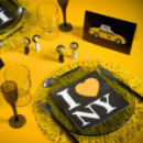 20 Serviettes de table New York