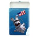 petite boite à bonbons en métal astronaute lapins crétins™