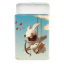 petite boite à bonbons en métal cupidon lapins crétins™