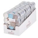 24 bougies chauffe-plat parfum noix de coco