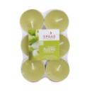 12 bougies chauffe-plat parfum pomme