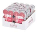 12 bougies chauffe-plat parfum jardin de roses