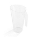 carafe en plastique rigide transparent 1,5 l