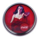 Plateau en métal décor Coca 33,5cm