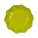 10 coupelles rondes en carton vert citron PARTY LINE 18.5 cm