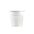 4800 gobelets en plastique blanc 8 cl